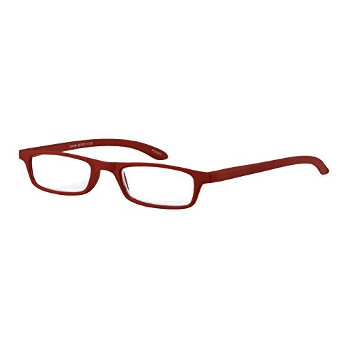 I NEED YOU Lesebrille Zipper / +2.00 Dioptrien / Rot von I Need You