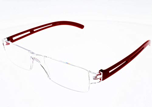 I Need You Lesebrille Joy - Dioptrien: +1,50 Kristall-Rot von I Need You
