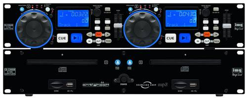 IMG STAGELINE CD-230USB DJ Doppel CD MP3 Player von IMG STAGELINE