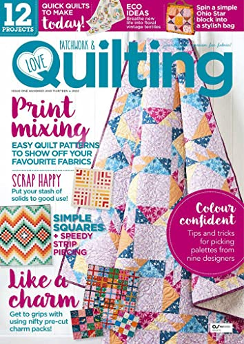 Love Patchwork and Quilting von Immediate Media Company London Ltd