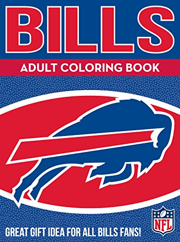 In the Sports Zone Bills Adult Coloring Book: A Colorful Way to Cheer on Your Team! von In the Sports Zone
