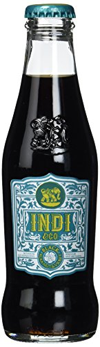 Indi & Co Black, 12er Pack, EINWEG (12 x 200 ml) von Indi & Co