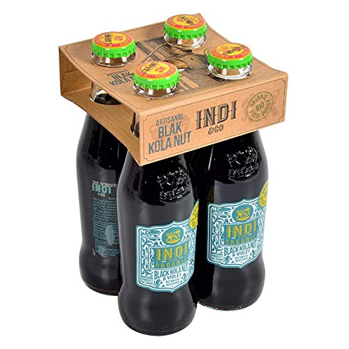 Indi & Co. Tonic Water 20cl (Black Cola, 4 Flaschen) von Indi & Co.