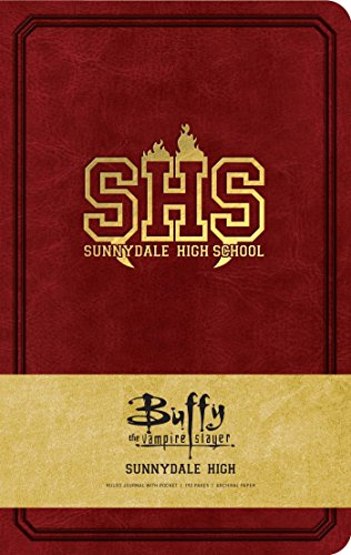 Buffy the Vampire Slayer Sunnydale High Hardcover Ruled Journal von Insight Collectibles