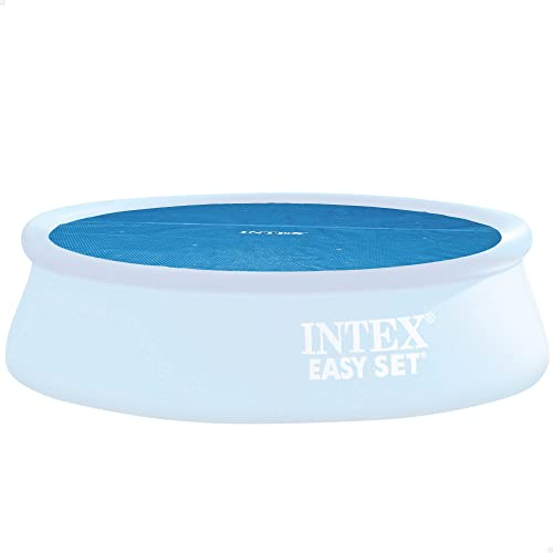 Intex Solarabdeckplane für Easy Frame Pool, isolierend, blau, Ø 366 cm von Intex