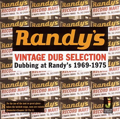 Vintage Dub Selection - Dubbing at Randy's 1969 - 1975 von JAMAICAN REC.