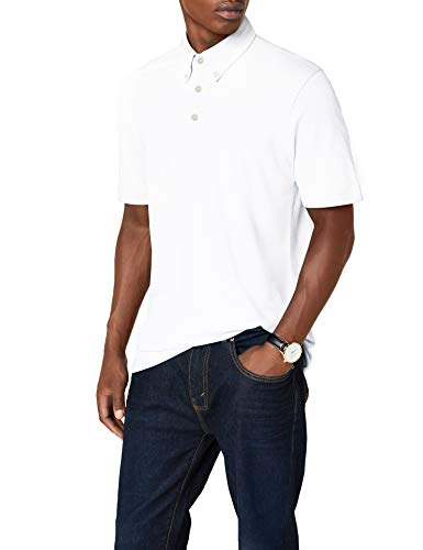 James & Nicholson Herren Poloshirt Poloshirt Men's Plain weiß (white/navy-white) XXX-Large von James & Nicholson
