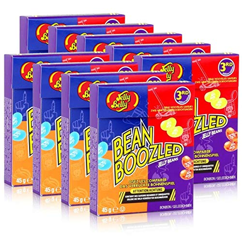9x Jelly Belly Bean Boozled Jelly Beans Flip Top Box 45g von Jelly Belly