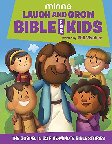 Laugh and Grow Bible for Kids: The Gospel in 52 Five-Minute Bible Stories von JellyTelly Press
