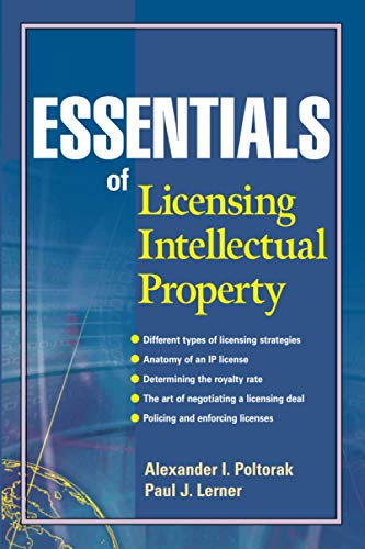 Essentials of Licensing Intellectual Property (Essentials (John Wiley)) von John Wiley & Sons