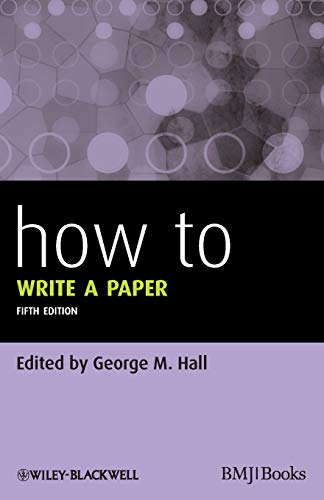 How To Write a Paper (HOW - How To) von BMJ Books