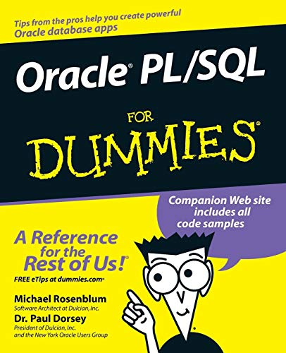 Oracle PL/SQL for Dummies (For Dummies Series) von For Dummies