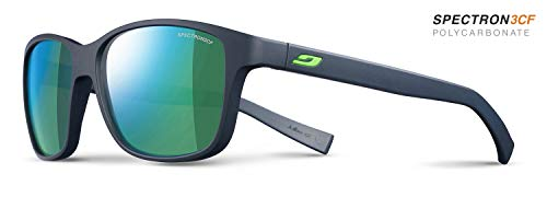 Julbo sunglasses J 475 Powel 1112 Acetate plastic Matt Blue Black with Green mirror effect von Julbo