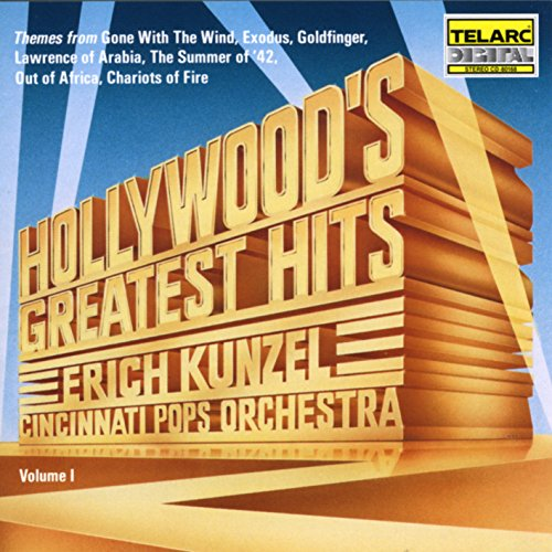 Hollywood's Greatest Hits von KUNZEL,ERICH/CINCINNATI POPS ORCHESTRA