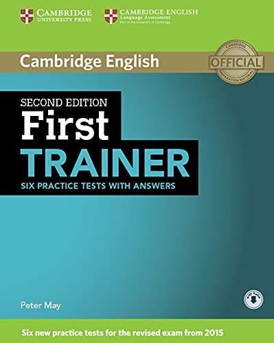 First Trainer: Second edition. Six Practice Tests with answers and downloadable audio von Klett Sprachen