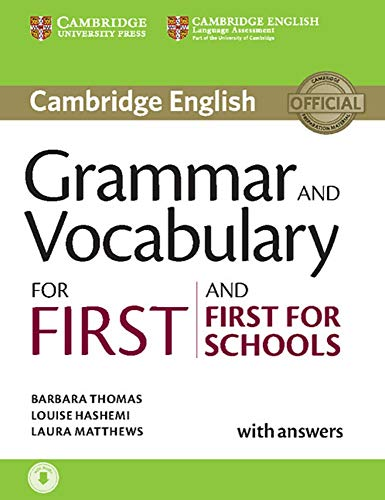 Grammar and Vocabulary for First and First for Schools: Book with answers and audio download von Klett Sprachen
