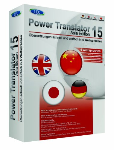 Power Translator 15 - Asia Edition von LEC