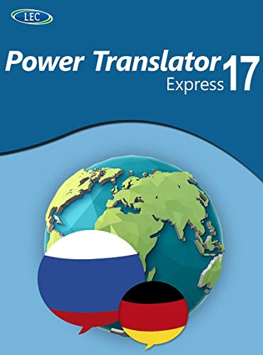 Power Translator 17 Express Deutsch-Russisch: Der komfortable Deutsch-Russisch-Übersetzer für den Desktop! Windows 10|8|7 [Online Code] von LEC