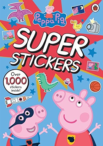 Peppa Pig Super Stickers Activity Book von Penguin Books Ltd