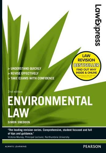 Law Express: Environmental Law von Pearson Education Limited