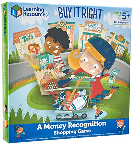 Learning Resources LSP2652-UK Buy it Right - Richtig einkaufen, Einkaufsspiel von Learning Resources