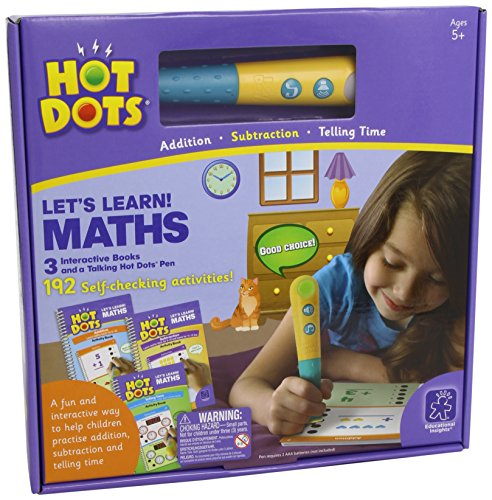 Learning Resources Hot Dots Lass uns nen! Mathe, nspielzeug von Learning Resources