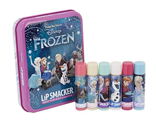 LipSmacker Disney Frozen Northern Lights Tin Box, 6 Stk. von Lip Smacker