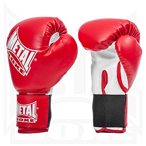 Metal Boxe Boxhandschuhe, Rot (Rouge), 8 oz von METAL BOXE