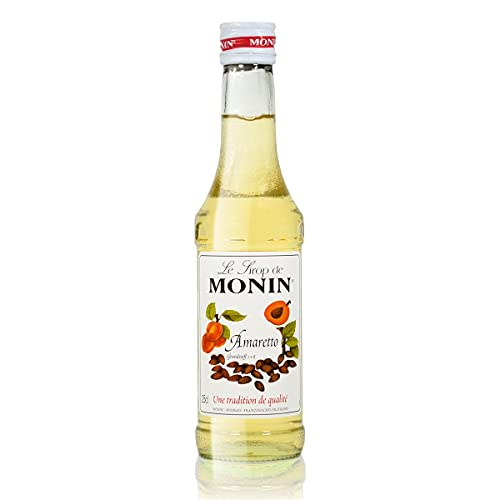 Monin Sirup Amaretto, 1er Pack (1 x 250 ml) von MONIN