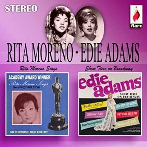 Rita Moreno Sings & Showtime on Broadway von MORENO,RITA & ADAMS,EDIE