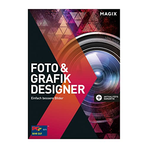 MAGIX Photo & Graphic Designer - Version 15 - Grafikdesign, Bildbearbeitung und Illustrationen in einer Software [Download] von Magix