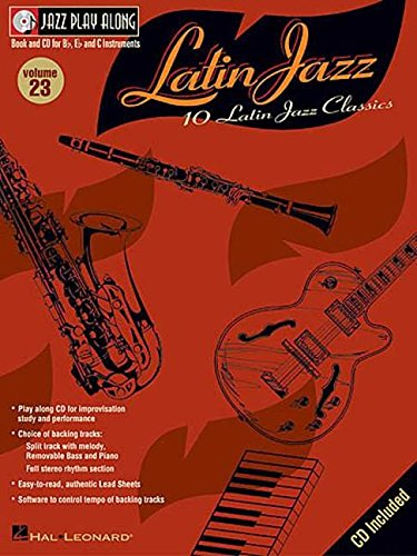Jpa Volume 23 Latin Jazz (10 Latin Jazz Classics) Bk/Cd (Volume 23 of the ultimate Play Along series): Noten, CD für Instrument(e) (Jazz Play Along, 23) von Unbekannt