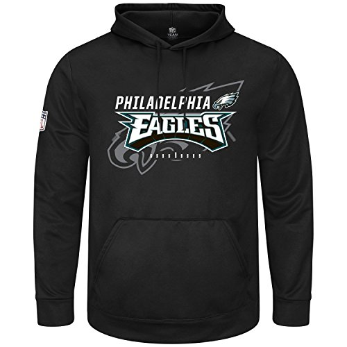 Majestic GREAT VALUE Hoody - Philadelphia Eagles schwarz XXL von Majestic