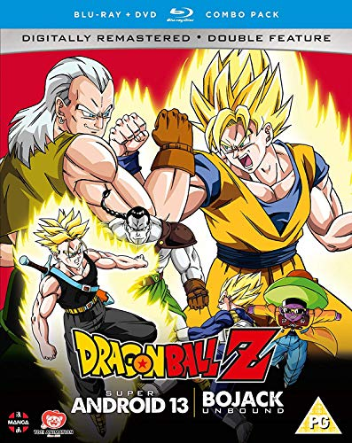 Dragon Ball Z Movie Collection Four: Super Android 13!/Bojack Unbound - DVD/Blu-ray Combo [UK Import] von Manga Entertainment