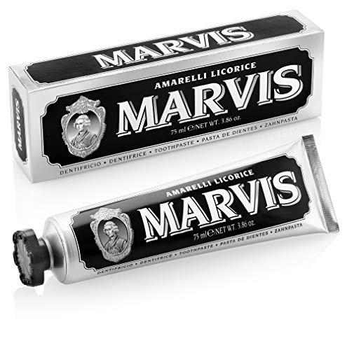 Marvis Zahncreme Amarelli Licorice, 1er Pack (1 x 75 ml) von Marvis