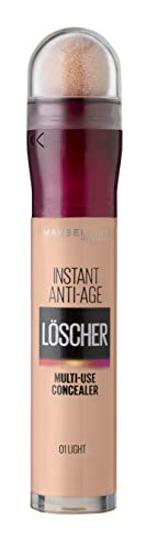"Maybelline New York Instant Anti-Age Effekt Concealer ""Der Löscher"" Auge, inkl. Mikro-Lösch-Applikator, 01 Light, 1er Pack (1 x 6.8 ml) von Maybelline New York"