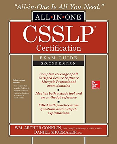 CSSLP Certification All-in-One Exam Guide, Second Edition von McGraw-Hill Education Ltd
