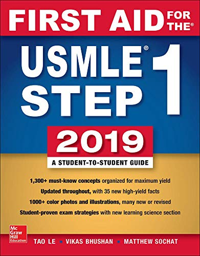 First Aid for the USMLE Step 1 2019 von McGraw-Hill Education Ltd