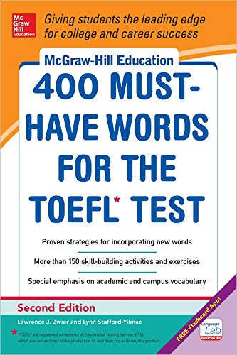 400 Must Have Words for the TOEFL (Mcgraw-Hill Education) von Mcgraw-Hill Professional