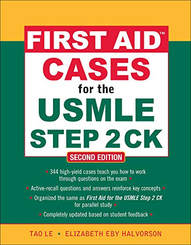 First Aid Cases for the USMLE Step 2 CK (First Aid USMLE) von McGraw-Hill Education Ltd