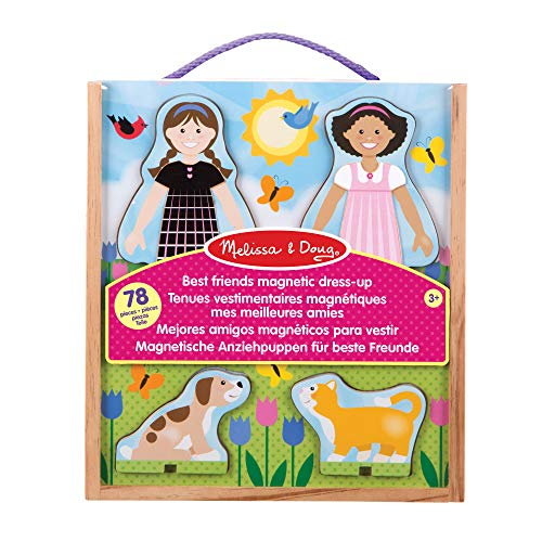 Melissa & Doug 19314 Classic Toys-Magnetic Dress-Up Sets von Melissa & Doug