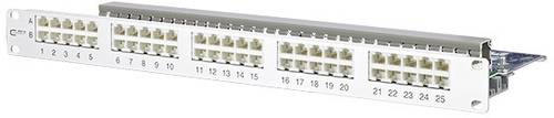 Metz Connect 130886-E 50 Port Netzwerk-Patchpanel CAT 3 1 HE von Metz Connect