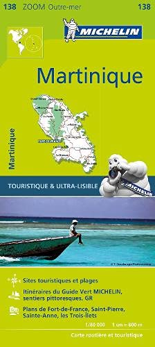 Martinique - Zoom Map 138 (Michelin Zoom Map, Band 138) von Michelin Editions des Voyages