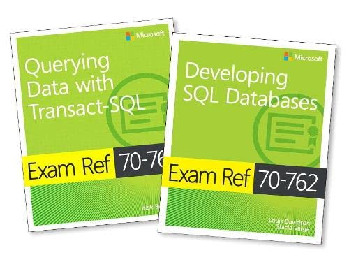 MCSA SQL Server 2016 Database Development Exam Ref 2-pack: Exam Refs 70-761 and 70-762 von Microsoft Press,U.S.