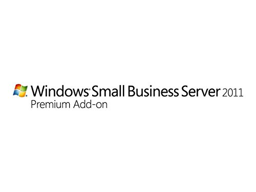 Systembuilder Windows Small Business Server PremAdd CAL Std 2011 64Bit Deutsch 1pk 1 Clt User CAL von Microsoft