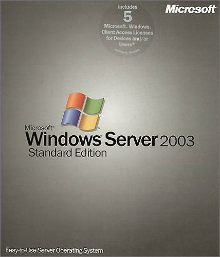 MS Windows Svr 2003 + 5 Cl. CD W32 von Microsoft