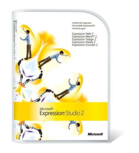 Microsoft Expression Studio 2 Mac/Win Upgrade von Microsoft