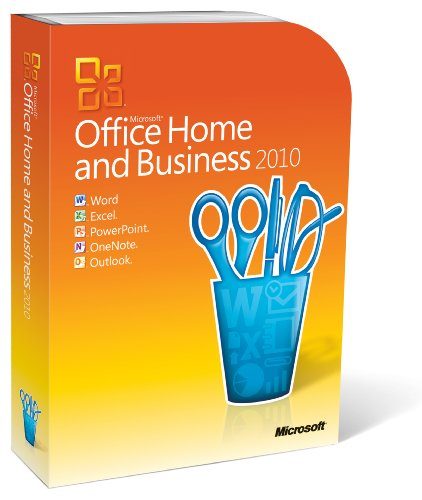 Microsoft Office Home and Business 2010 - 2PCs/1User - englisch von Microsoft
