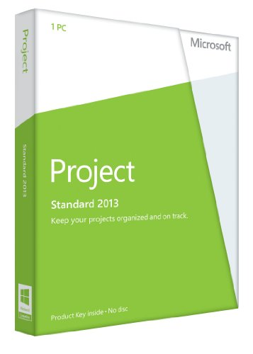 Microsoft Project 2013 - 1PC (Product Key Card ohne Datenträger) - englisch von Microsoft
