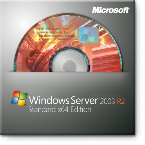 Microsoft Windows Server 2003 Standard R2 Edition, 32 Bit, 1-4 CPU, 5 CAL, SP2, Englisch von Microsoft